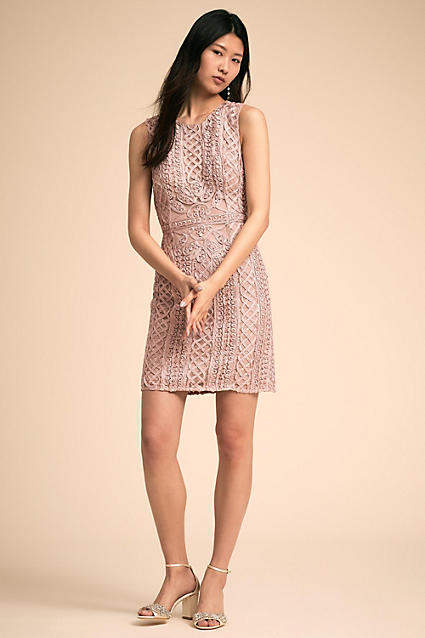 Anthropologie Quartz Wedding Guest Dress