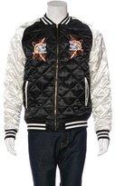 Billionaire Boys Club Satin Quilted Baseball Jacket