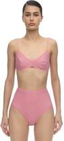 Oseree Shine Embellished Lycra Bikini