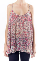 Collective Concepts Printed Tank - Red