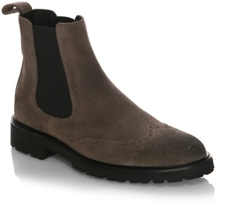 Belstaff Lancaster Burnished Leather Boots