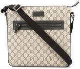 Gucci logo pattern messenger bag
