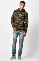 Young & Reckless Nixon Moto Destroyed Skinny Jeans