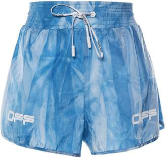 Off-White Off White active tie dye shorts