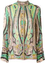 Etro paisley print shirt - women - Silk - 42