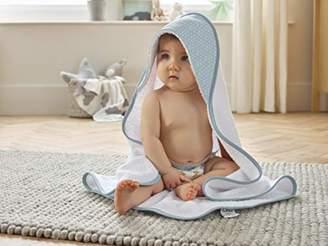 Clair De Lune Cotton Dream Hooded Towel - Blue