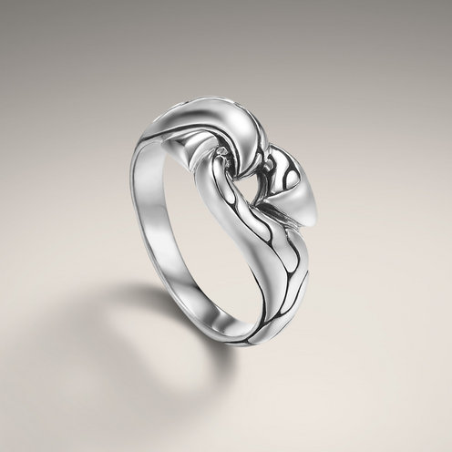 John Hardy CLASSIC CHAIN COLLECTION Hook Ring