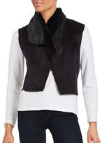 BB Dakota Faux Fur-Lined Vest