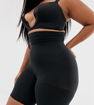 Spanx curve higher power shorts in black