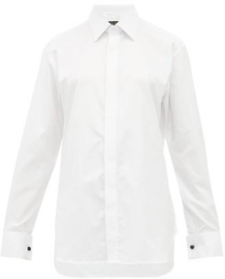 Emma Willis Selva French-cuff Cotton Shirt - Womens - White