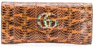 Gucci Broadway GG clutch bag