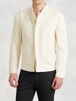 John Varvatos Double Layered Linen Jacket