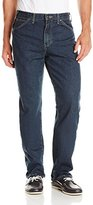 Dickies Men's Big Washed Relaxed Fit Carpenter Jean, Indigo Blue, 48x32