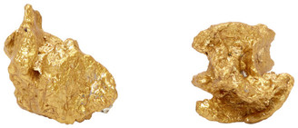 Ingy Stockholm Gold Object No. 84 Asymmetric Earrings