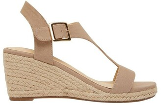 Sandler Anchor Taupe Fabric Sandals