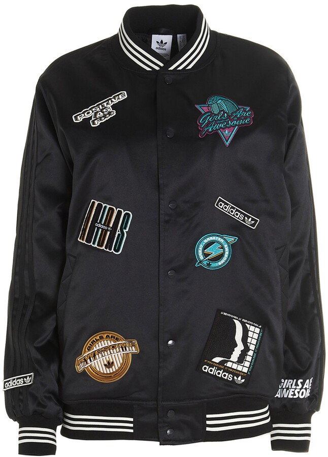 Thumbnail for your product : adidas X Girls Are Awesome Collegiate Jacket