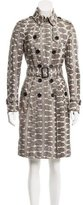 Burberry Snakeskin Trench Coat
