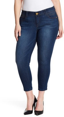 Democracy Stretch Ankle Skimmer Jeans (Plus Size)
