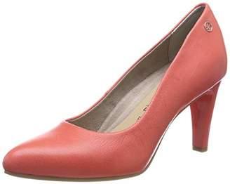 Tamaris Women's 1-1-22457-22 563 Closed-Toe Pumps, Red (Coral