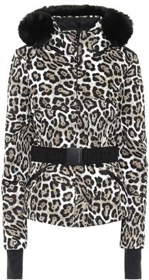 Goldbergh Ski Wild leopard-print jacket