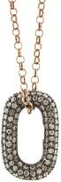 Selim Mouzannar Icy Grey Diamond Link Chain Necklace