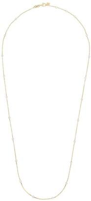 Rosa de la Cruz 18kt Yellow Gold Pearl Beaded Necklace
