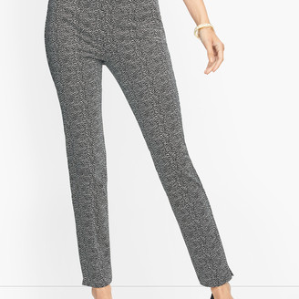 Talbots Chatham Ankle Pants - Falling Lines - Curvy Fit