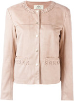 Urban Code Urbancode - stitched detail jacket - women - Polyester - 12