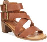 Rampage Havarti Block-Heel City Sandals