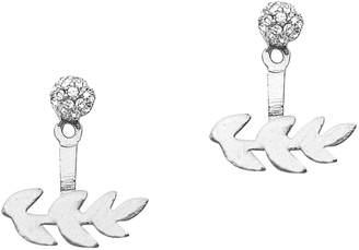 Gardenia Foxy Originals 14K Goldplated Jacket Earrings