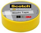 Scotch Washi Tape Yellow 10mx15mm