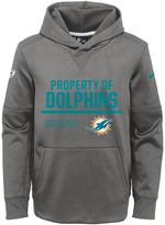 Nike Boys 8-20 Miami Dolphins Circuit Therma-FIT Hoodie