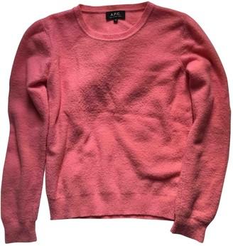 A.P.C. Pink Wool Knitwear for Women