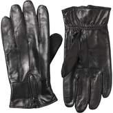 Kangaroo Poo Mens Leather Gloves Black