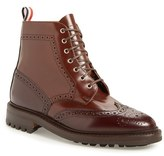 Thom Browne Men's Classic Wingtip Boot