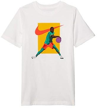Nike Kids Kyrie T-Shirt (Little Kids/Big Kids) (White) Boy's T Shirt