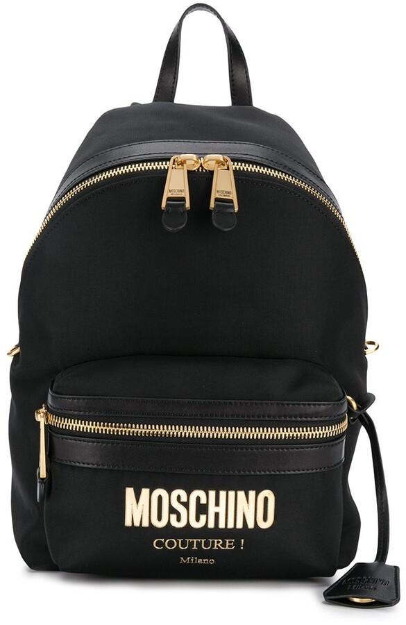 Moschino Logo Plaque - ShopStyle