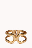 Forever 21 Luxe Hinged Cuff
