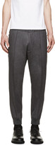 DSQUARED2 Charcoal Wool Lounge Pants