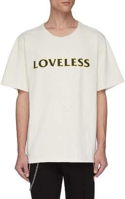 Rhude 'Loveless' slogan logo print T-shirt