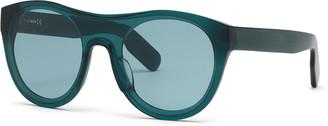 Kenzo Men's Round Acetate Sunglasses, Blue