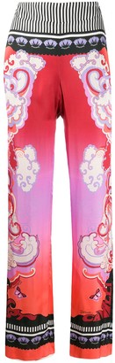 Just Cavalli Print Mix Trousers