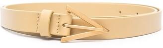Bottega Veneta Triangle Buckle Belt