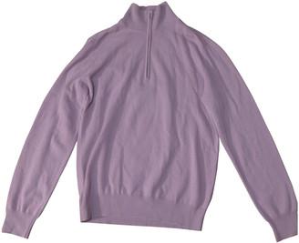 Hermes Purple Cashmere Knitwear
