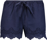 W118 by Walter Baker Nadine broderie anglaise cotton shorts
