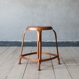 Graham and Green Isaac Copper Stool