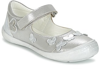 Citrouille et Compagnie JALIPINE girls's Shoes (Pumps / Ballerinas) in Silver
