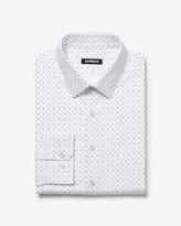 Express Slim Dot 365 Comfort Stretch+ Dress Shirt