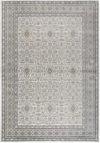 Panache Rizzy Home Traditional Distressed Ornate IV Geometric Rug