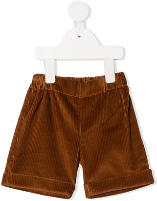 La Stupenderia Corduroy Knee-Length Shorts